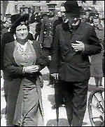 The Queen Mother and Churchill