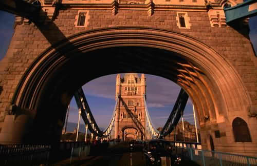 виды Лондона: Tower Bridge